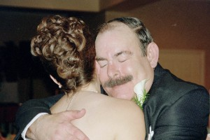 My dad on my wedding day.