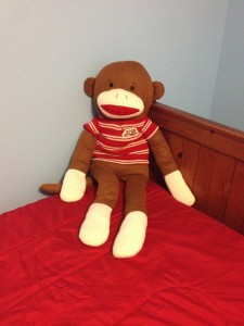 Ginormous Adorable Monkey from Grandma