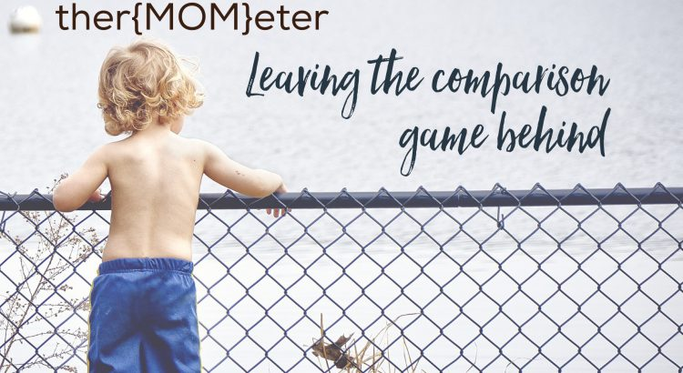 4 words you need to know to ditch the motherhood comparison game
